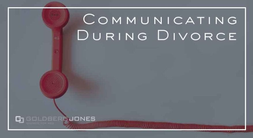divorce communication