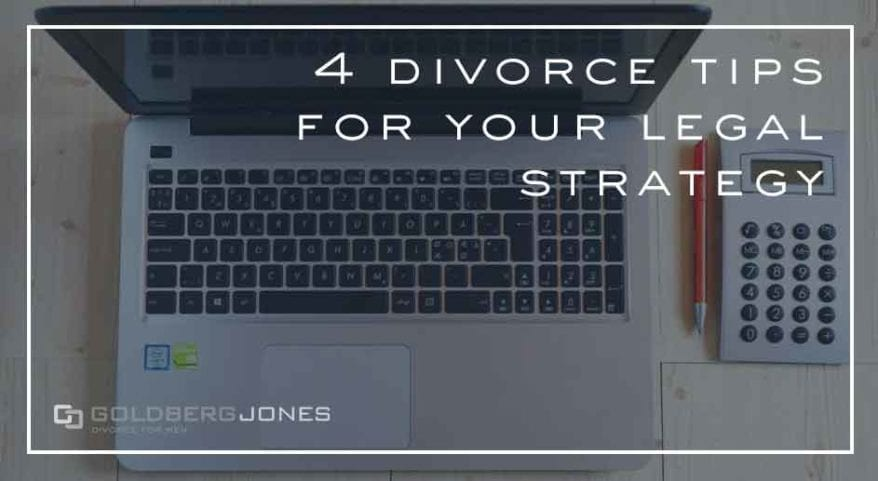 divorce tips and strategies