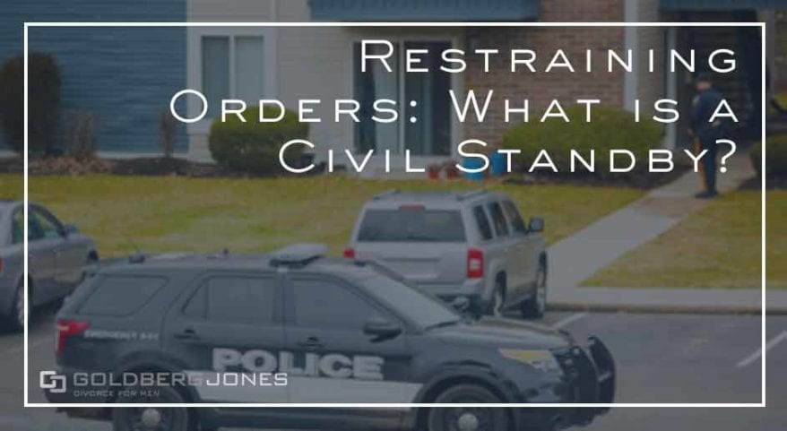 what is a civil standby in family law