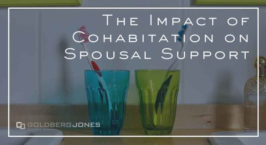 unmarried spousal support