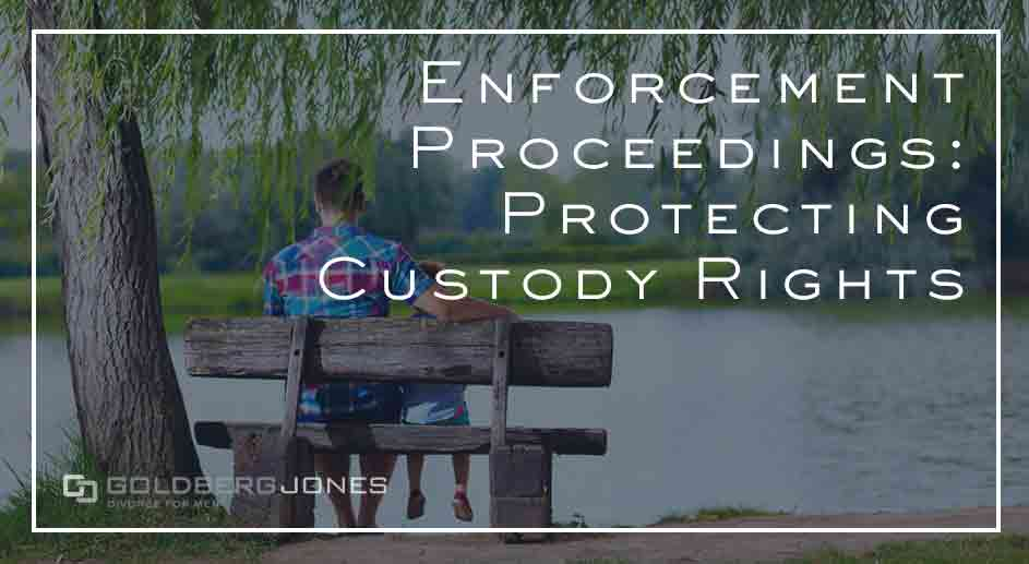 how to protect your visitation rights during proceedings