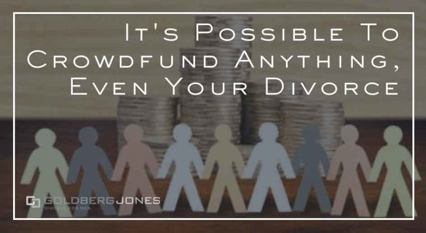 can you crowdfund your divorce