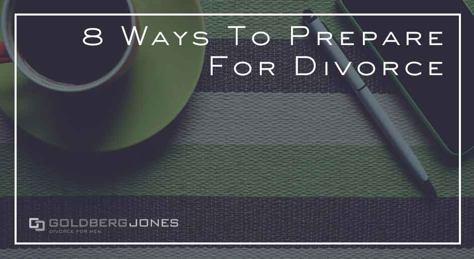 can you prepare for divorce