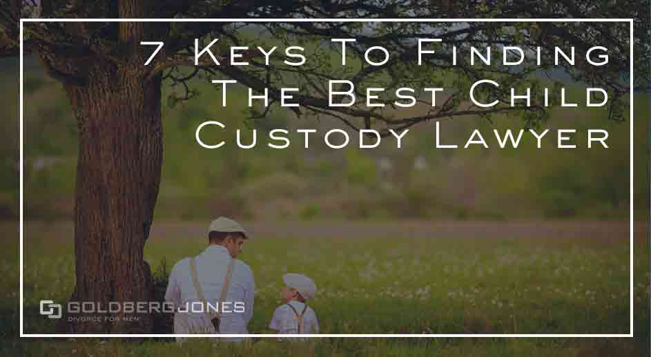 finding the right custody lawyer