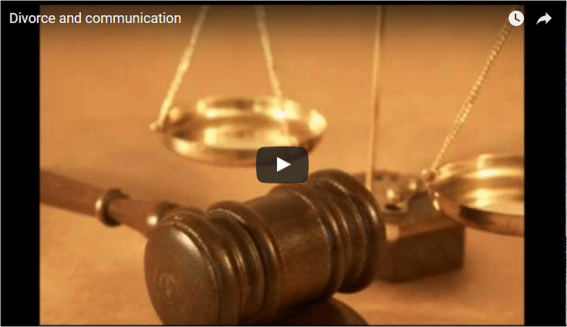 divorce communication