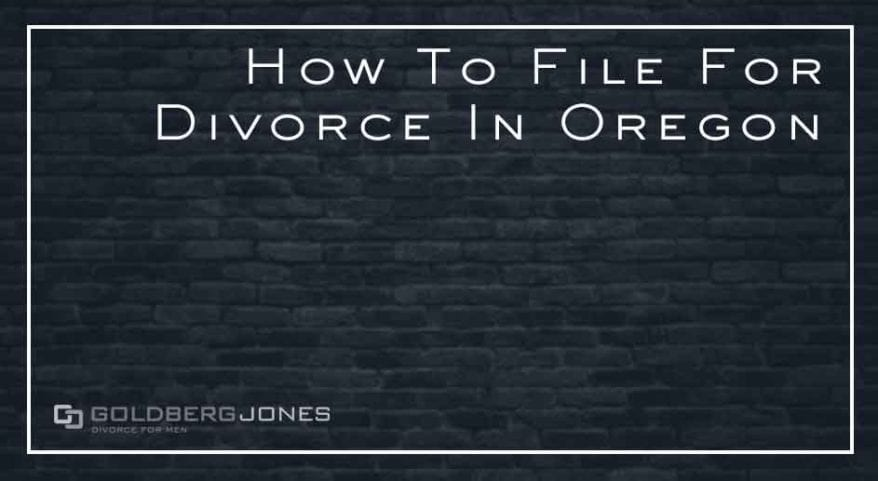steps to filing for divorce