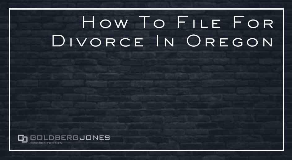steps to filing for divorce