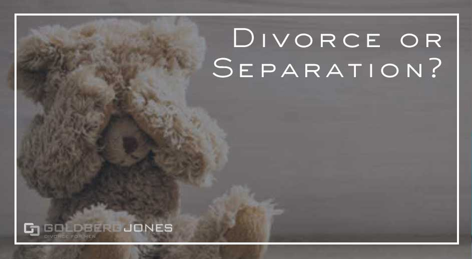 how does legal separation differ from divorce