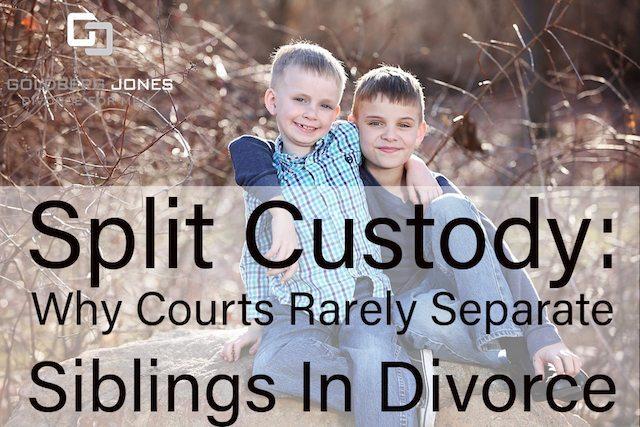 split custody