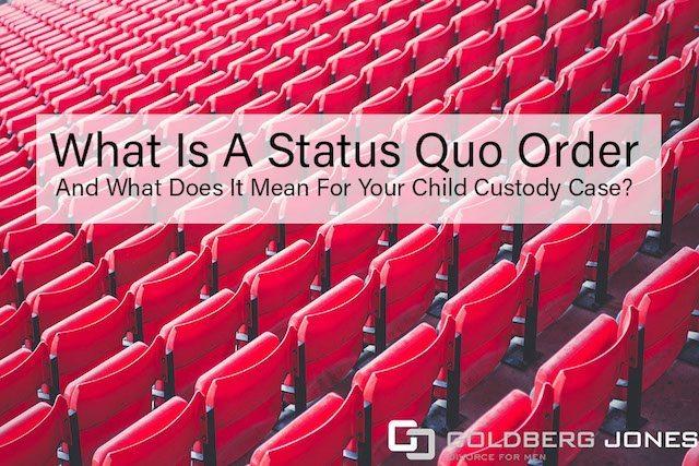 status quo order