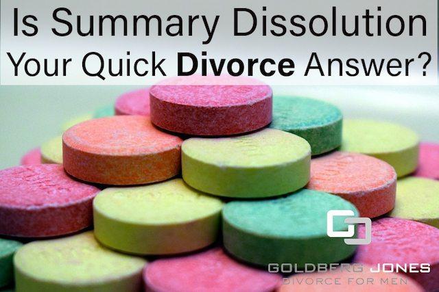 summary dissolution