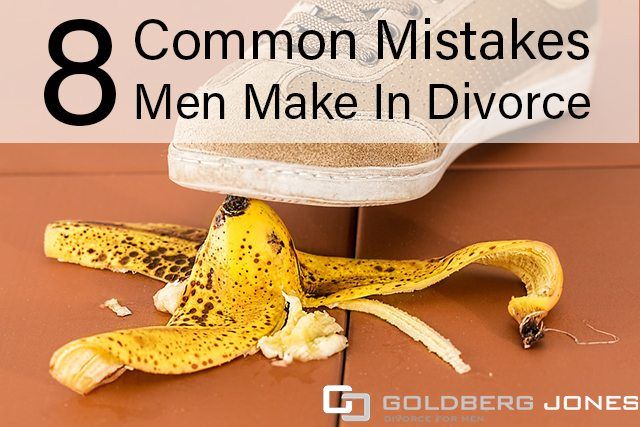 mistakes men make in divorce