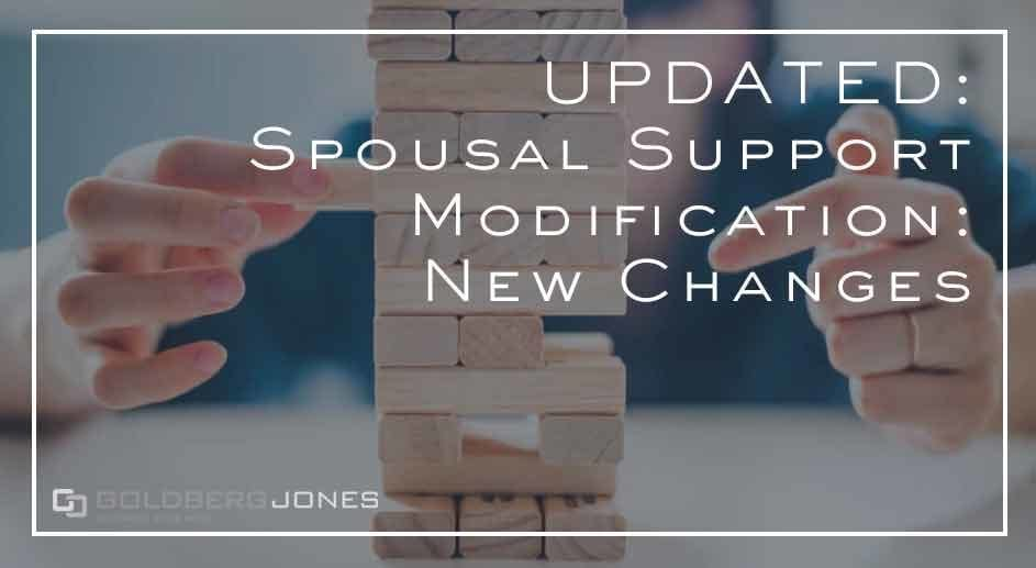 the tax plan changes spousal modification