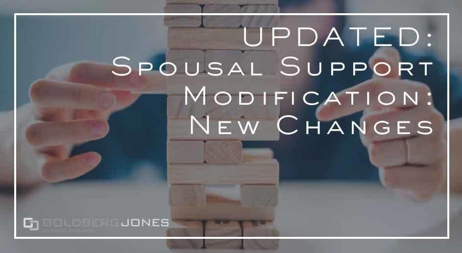 the tax plan changes spousal modification