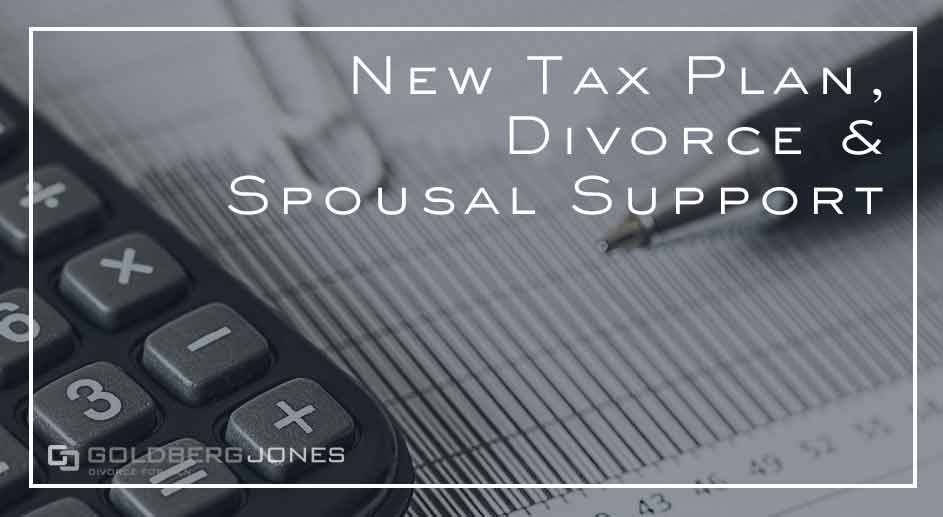 tax plan changes divorce