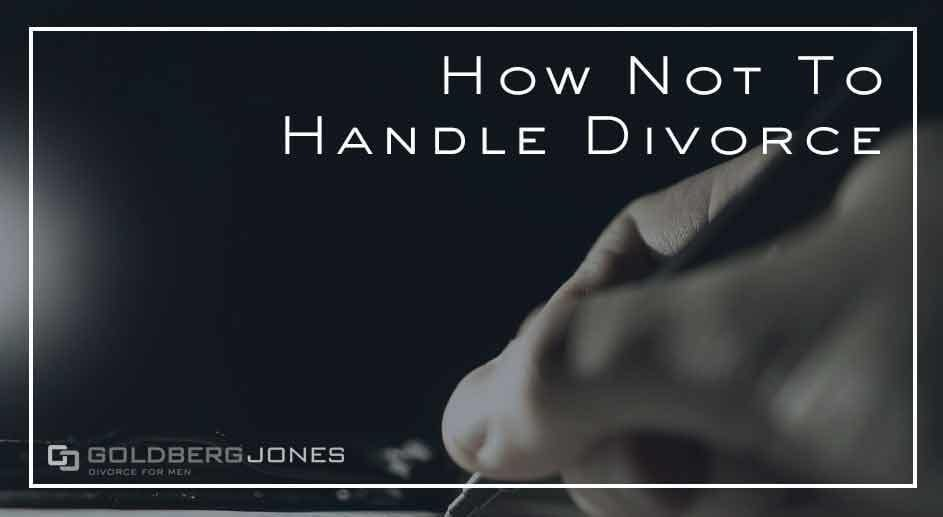 mistakes to avoid in divorce