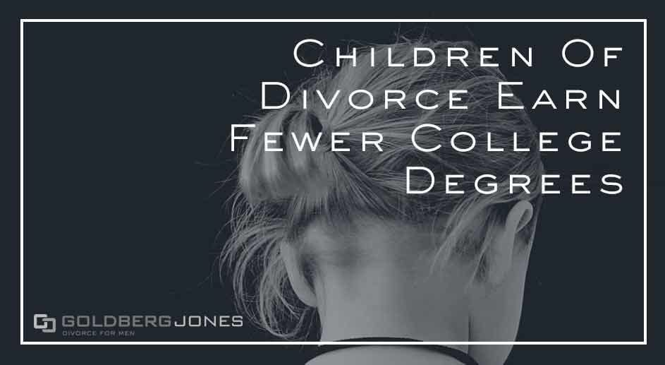 long lasting effects of divorce on kids