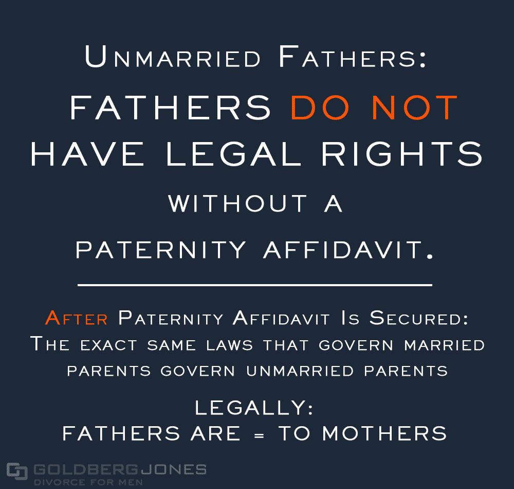 unmarried fathers rights