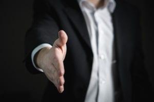 handshake divorce debt