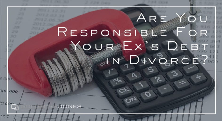 debt divorce calculator