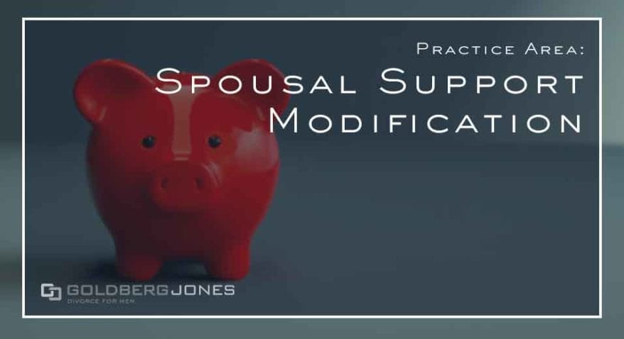 Spousal Support Modification IN pORTLAND