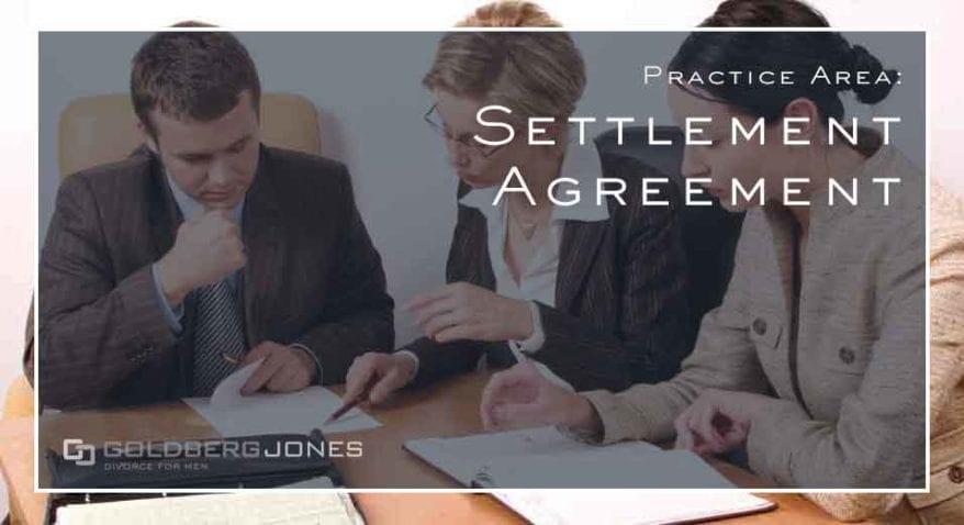 Settlement Agreement in divorce