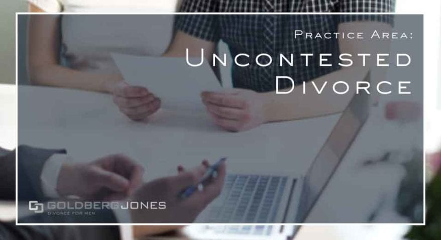 uncontested-divorce in Oregon
