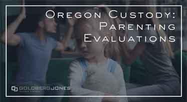 determining child custody in oregon