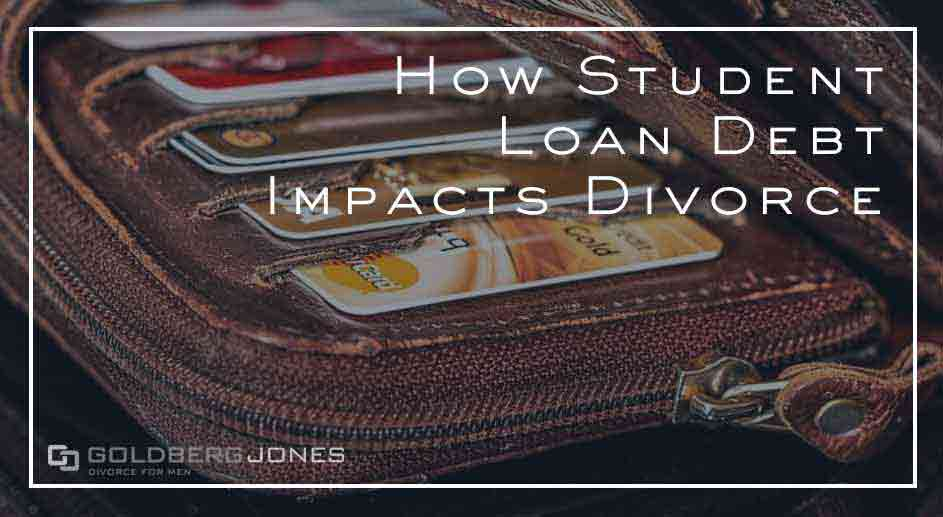 student loan debt and divorce