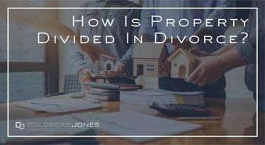 how is property divided in divorce