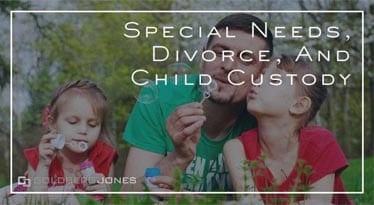 children with special needs in divorce