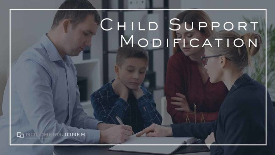 child support modification attorney