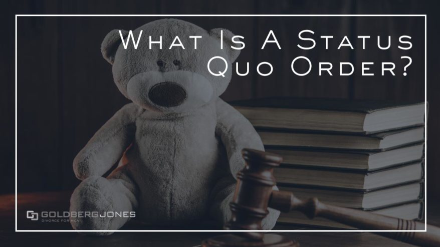 how does a status quo order work?
