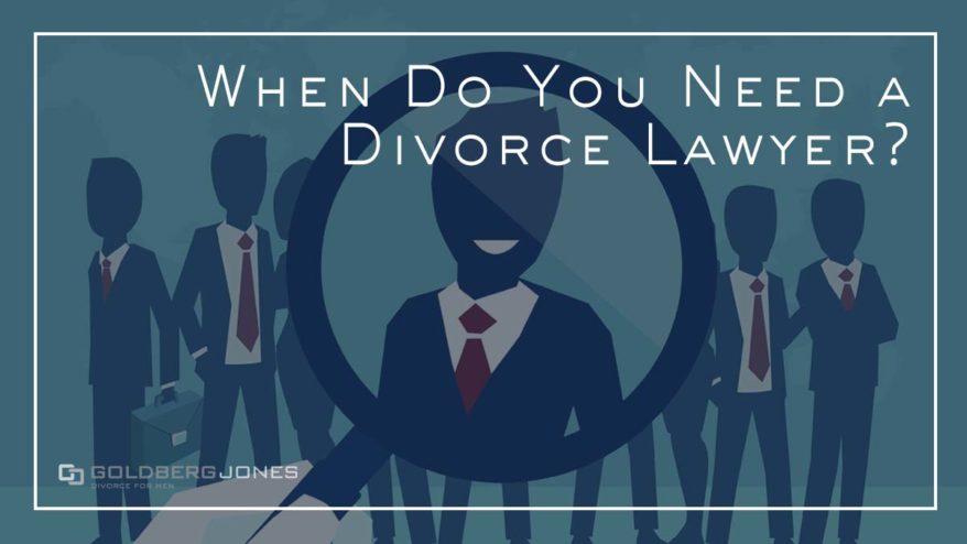 should you hire a divorce lawyer?
